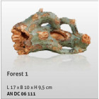 Aquatic Nature Decor Forest No 01